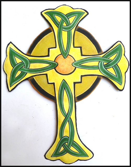 Handcrafted metal art cross wall hangings - Cross Wall Art - Haitian ...
