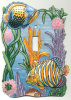 Hand Painted Metal Switch Plate Cover - Tropical Fish - Light Switch
