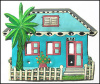 Painted Metal Switch Plate Cover - Caribbean HouseSwitchplate